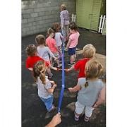 Walk''n''Line Toddler Walking Rope/Leash For 12 Children With Shoulder / Waist Carry Bag