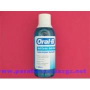 ORAL B COLUTORIO CARIES 500 206078 ORAL-B ENJUAGUE BUCAL CON FLUOR ANTICARIES - (500 ML )