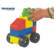 Miniland 32325 - Blocchi Super valigie 14 parti