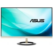 "Monitor IPS LED ASUS 23.8"" VZ249Q, Full HD (1920 x 1080), VGA, HDMI, DispalyPort, 5 ms, Boxe (Negru/Auriu)"