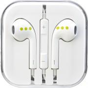 Casti Audio Cu Microfon Alb ABC Tech
