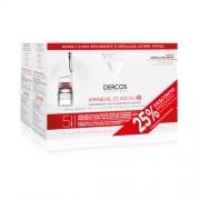 Vichy Dercos Aminexil Clinical ampolasx42 Mulher