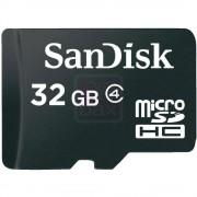 SanDisk - Carte mémoire flash - 32 Go - Class 4 - microSDHC - noir