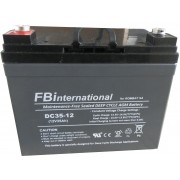 Acumulator 12V - 35Ah VRLA, GEL, AGM FBinternational for ROMBAT