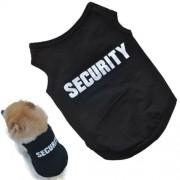 Security fekete kutyapóló