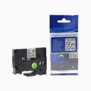Brother TZ-S131/TZe-S131 12mm x 8m adhezní černý tisk/čirý podklad kompatibilní