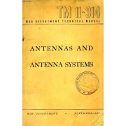 War Department Technical Manual, Tm 11-314, Antennas And Antenna Systems