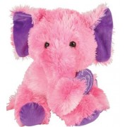 Tie Dye Elephant Plush Stuffed Animal