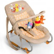 Бебешки шезлонг - Bungee Deluxe Pooh, Hauck, 352448