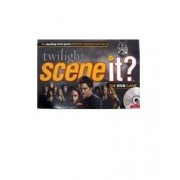 Scene It? Trivia DVD Board Game - TWILIGHT with DVD, Game Board, 4 Movers, 100 Trivia Cards, 20 Fate Cards, 4 Category Reference Cards, 1 Six-Sided Numbered Die, 1 Eight-Sided Category Die and Instruction Sheet Plus Bonus Activities by Twilight