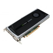 NVIDIA Quadro 4000 - Carte graphique - Quadro 4000 - 2 Go GDDR5 - PCIe x16 - DVI, 2 x DisplayPort - pour ThinkStation C20\; C20x\; D20\; S20