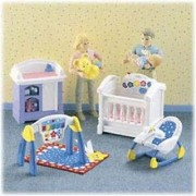 Loving Family Dollhouse Sparkling Symphony Nursery 2001