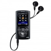 MP3 Player Sony NWZE383B 4GB black