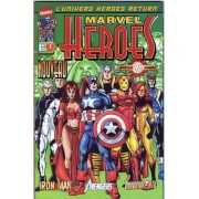 """ Le Neuvième Jour "" ( Thunderbolts + The Avengers + Iron Man ) : Marvel Heroes N° 1 ( Janvier 2001 )"