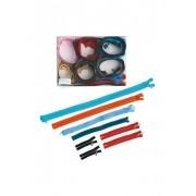 Trigema Damen Reißverschluss Box á 30 Stück Größe: 900 Material: 100 % Polyester Farbe: sortiert