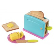 KidKraft Wooden New Toaster Set - Brights