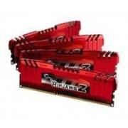 Mémoire LONG DIMM DDR3 G.Skill DIMM 32 GB DDR3-1866 Quad-Kit F3-14900CL10Q-32GBZL, série RipjawsZ 32 GB CL10 10/11/30 4 barettes