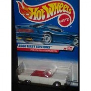 2000 First Editions #3 1964 Lincoln Continental With Hot Wheels Logo #2000-63 Collectible Collector Car Mattel Hot Wheel