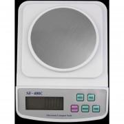 ER Digital escala electrónica LCD 500g x 0.01g precisión de pesaje Contando NuevoBlanco.