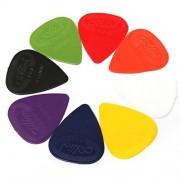 50pcs Acoustic Electric Guitar Bass Picks Plectrums Mix Color