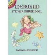 Mermaid Sticker Paper Doll by Barbara Steadman