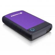 Hard disk extern Transcend StoreJet 25H3P 2TB 2.5 inch USB 3.0 Purple