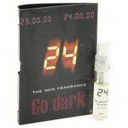 ScentStory 24 Go Dark The Fragrance Jack Bauer Vial (Sample) 0.04 oz / 1.2 mL Fragrance 500207