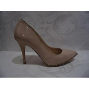 Pantofi Stiletto Piele - Culoare Bej - Giulio 016-632 V.N.