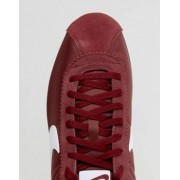 Nike Classic Cortez Nylon Trainers In Red 807472-601 - Red