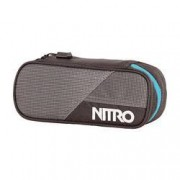 nitro Etuibox Pencil Case Blur Blue Trims