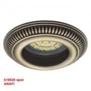 Kanlux Spot encastrable fixe ANAFI en aluminium luminaire pour plafond
