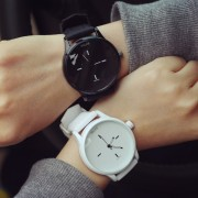 Classic Black and White Silicone Quartz Watch Brand Women Watches Lovers Jelly Casual Watch Relogio Feminino 2016 Clock Women