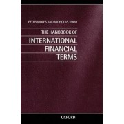 The Handbook of International Financial Terms by Peter Moles