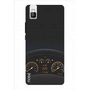 Noise Dark Speedometer Printed Cover for Huawei Honor 7I (AM-82)