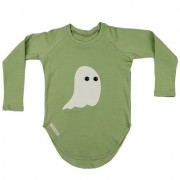 Bluza Ghost (unisex) - verde, 1-2 ani