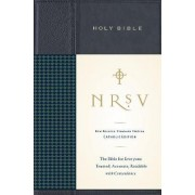 NRSV Standard Bible Catholic Ed Anglicized (navy/blue) by Harper Bibles