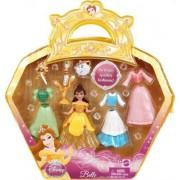 Disney Precious Princess Belle Sparkly Fashions Doll Set by Mattel (English Manual)