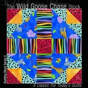 The Wild Goose Chase Block by All American Crafts Inc