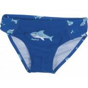 Playshoes zwembroek haai blauw