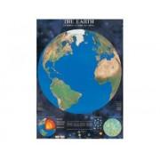 Puzzle tierra globo luminiscente