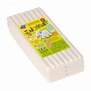 Feuchtmann Spielwaren 628.0305-1 - Plastilina per bambini, 500 g, Bianco
