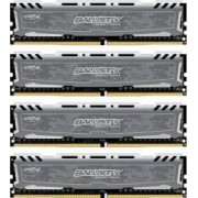 Kit Memorie Crucial Ballistix Sport LT 4x16GB DDR4 2400MHz CL16 Quad Channel