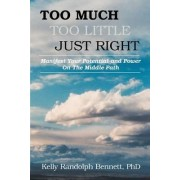 Too Much, Too Little, Just Right by Kelly R Bennett