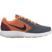 Nike Revolution 3 But do biegania szary/pomarańczowy Buty do biegania antypoślizgowe