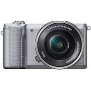Sony Aparat SONY Alpha a5000 (ILCE-5000) Srebrny + Obiektyw 16-50mm + Zamów z DOSTAWĄ JUTRO! + DARMOWY TRANSPORT!