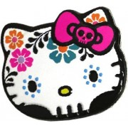 Hello Kitty Sweet Skulls Candy Tin [White]