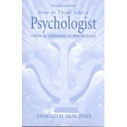 How to Think Like a Psychologist by Donald McBurney