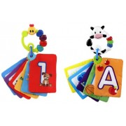 Baby Einstein Shapes & Numbers Discovery Cards Caterpillar & Cow