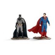 Set 2 Figurine Schleich Batman Vs Superman Scenery Pack