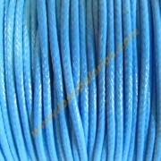 Agodon encerado brillo azul 1mm (precio por metro)